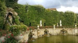 Water Theatre Villa Marlia Deities Statues