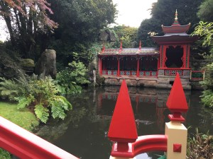 Biddulph Grange China bridge pagoda temple