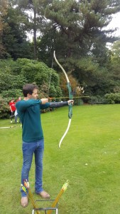 Kevin archery Speke Hall