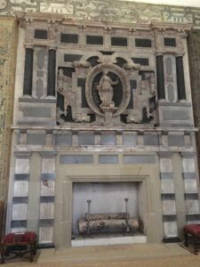 Hardwick New Hall Long Gallery fireplace