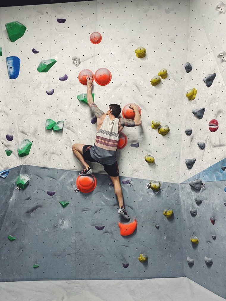Bouldering, fasted state