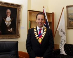 Mayor of Boroondara, Cr Nicholas Tragas