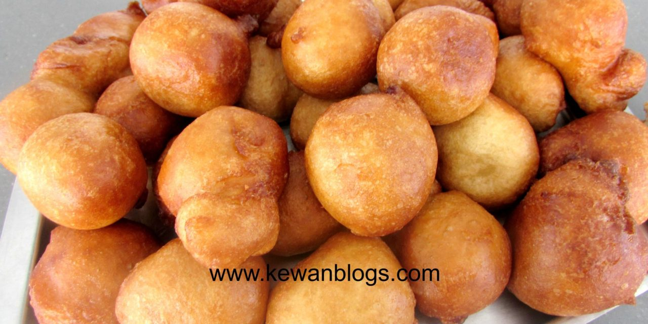 Aunt Milly's Ginger – Flavored Puff Puff