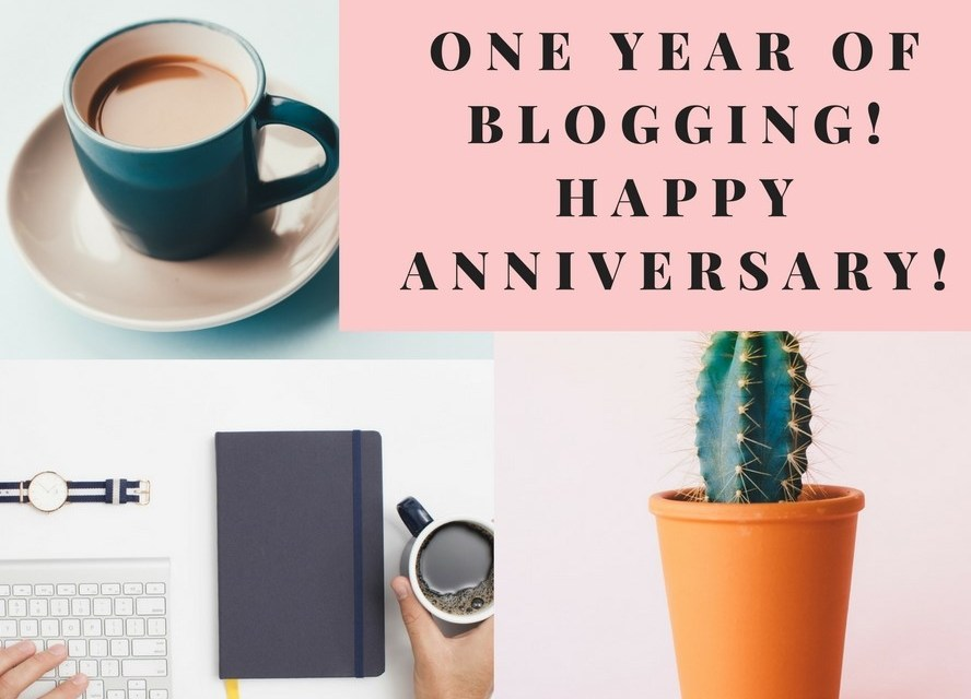 HAPPY ANNIVERSARY-ONE YEAR OF BLOGGING