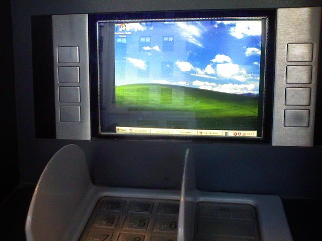 Cajero automático con Windows XP - Qué debes saber sobre el fin de soporte de Windows XP