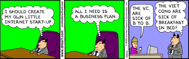 Dilbert y las startups - documentarse