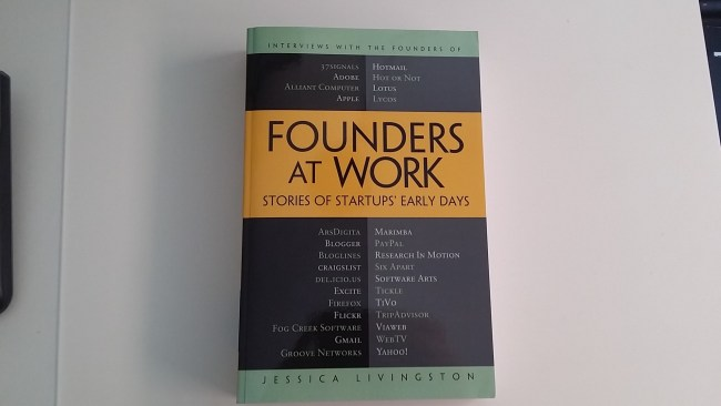 Founders at work -  libros para emprendedores