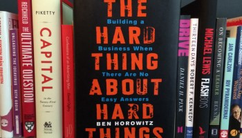 Hard Thing about hard things - Emprender y liderar una startup