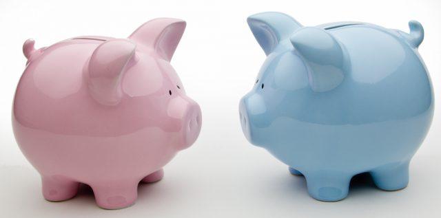 Blue And Pink Piggy Banks - financiación de startups