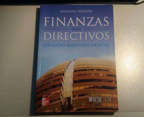 Finanzas para Directivos - libros recomendados sobre startups