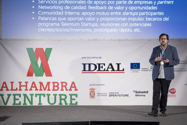 Juan Jesús Velasco en Alhambra Venture 2015