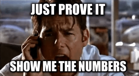 metricas vanity metrics show me the numbers