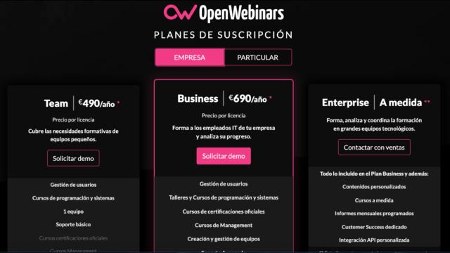 OpenWebinars - cómo vender un saas b2b