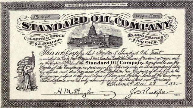 Standard oil Rockefeller