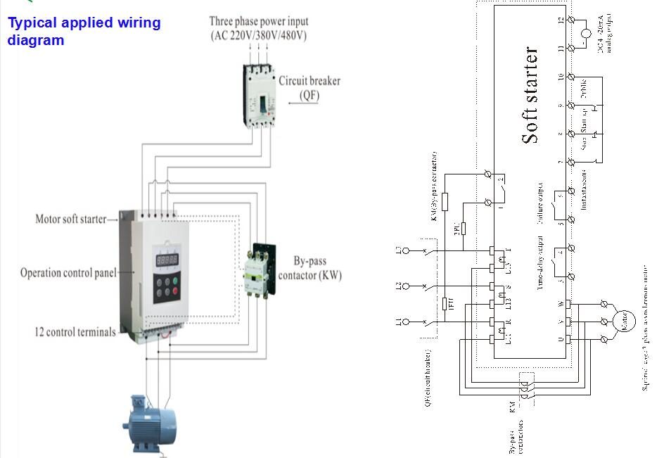 motor soft starter wiring diagram with Soft Starter Wiring Diagram Schneider on Ford 351 Distributor Wiring Diagram together with Single Phase Refrigeration  pressor 22 likewise 9 Wire Motor Diagram furthermore Square D Mag ic Starter Wiring Diagram moreover 332655.
