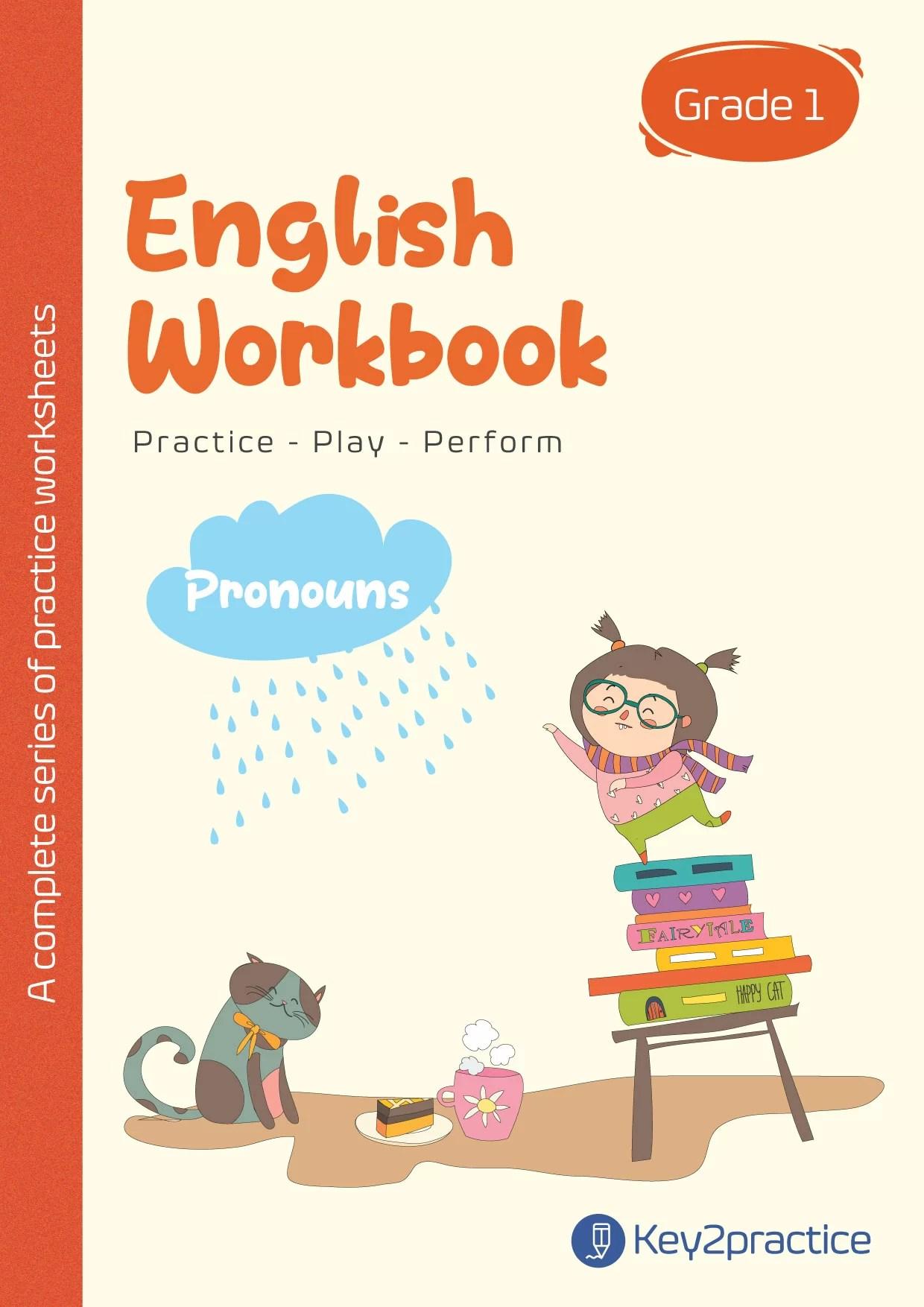 English Worksheets Grade 1 Chapter Pronouns