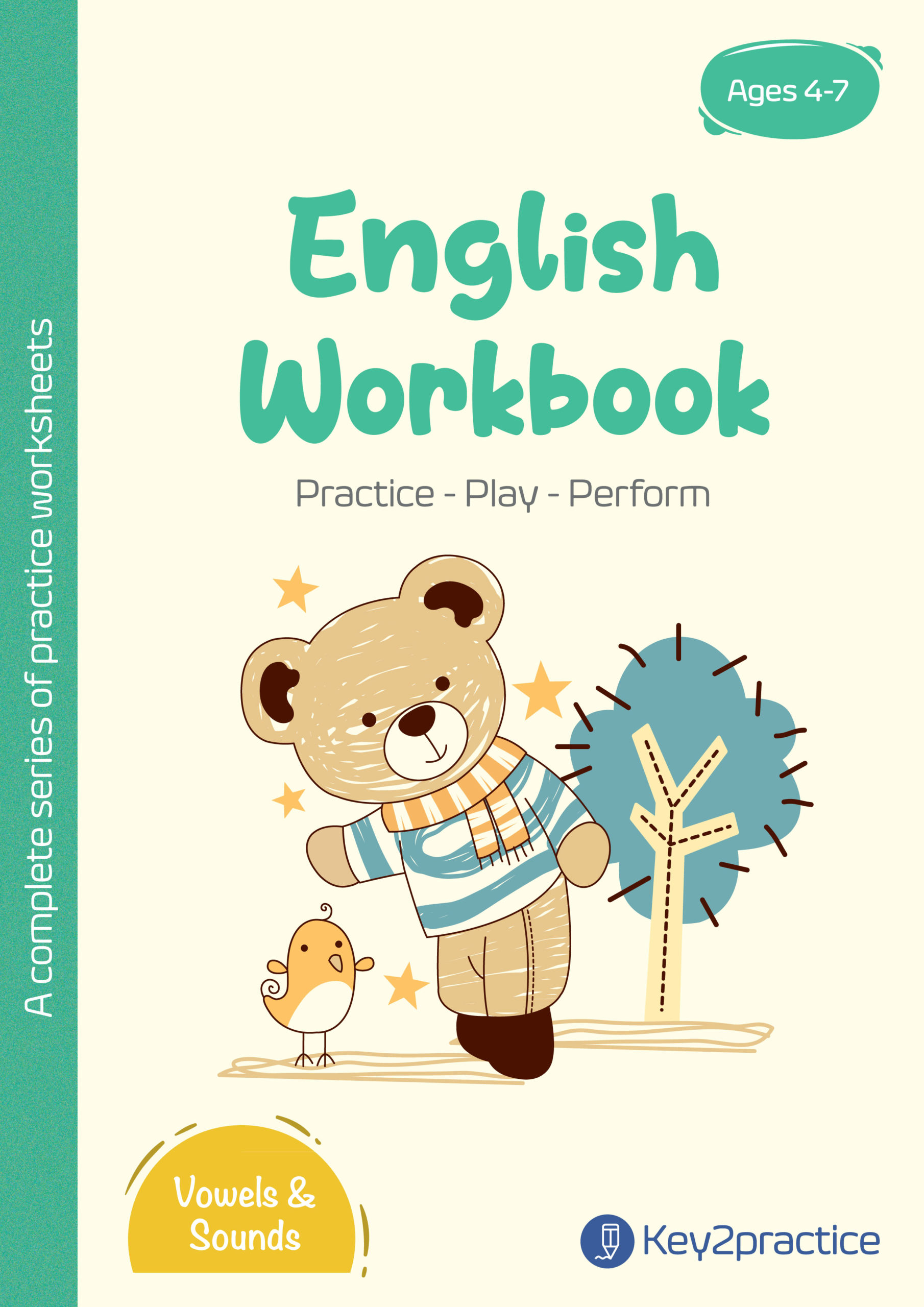 English Worksheets Grade 1 Workbook Vowels Amp Sounds