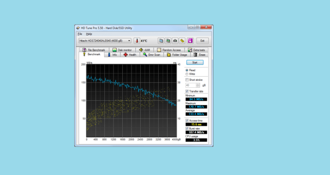 HD Tune Free Tools to Measure Hard Drive and SSD Performance