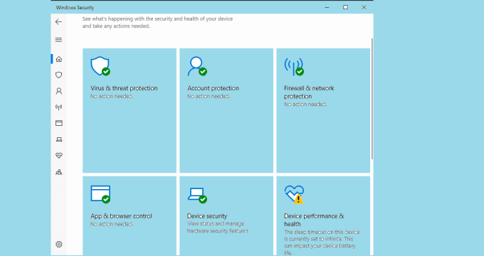 Microsoft Windows Defender Antivirus for Windows 10