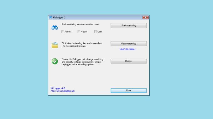 KidLogger best free keyloger software