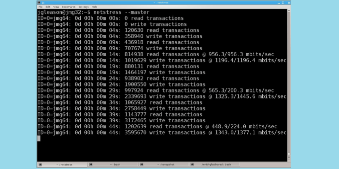 NetStress Network Benchmarking Tool