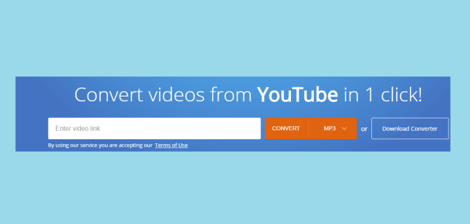 Convert videos from YouTube