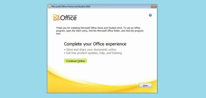 Microsoft Office 2010 Install
