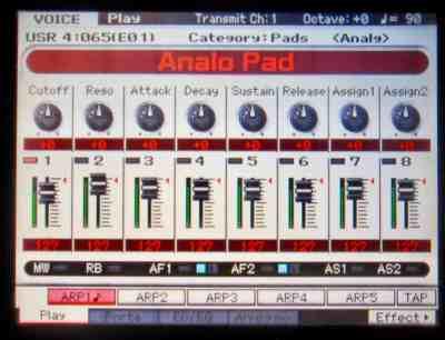 Analog Pad
