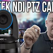 Newtek NDI PTZ Camera Unboxing Review