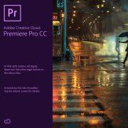 Adobe Premiere Pro 2017 Splash Screen