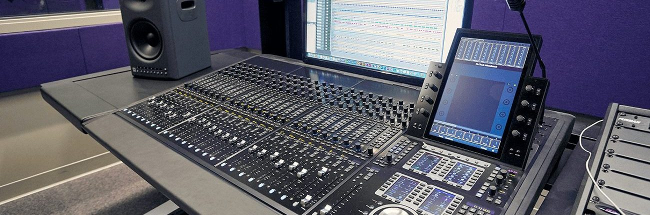 Santa Monica College Avid S6 Audio Console