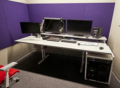 Santa Monica College Audio Edit Bay