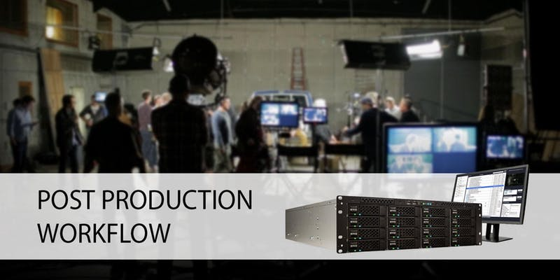 Production Workflow with SNS storage