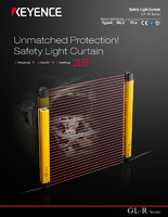safety light curtain gl r series