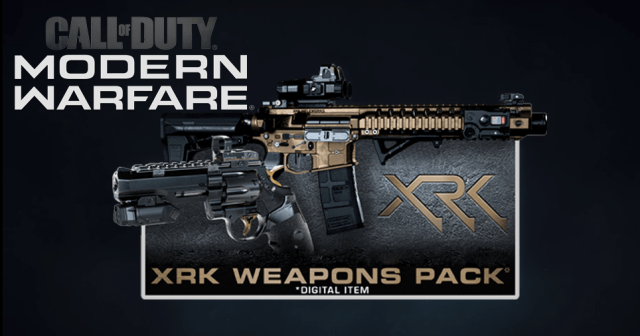 Call of Duty Modern Warfare XRK Weapon Pack Free