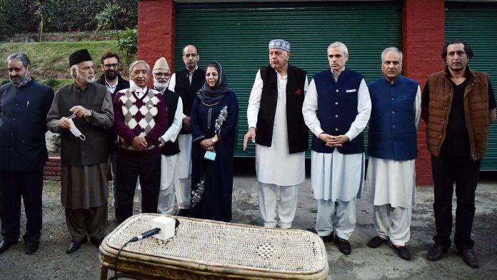 Gupkar Declaration turns into official alliance in J&K