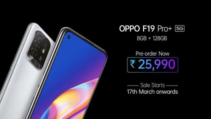 The Oppo F19 Pro Launched in India
