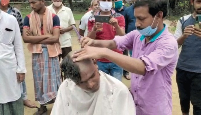 bjp-supporters-join-tmc-after-saving-their-heads-in-khanakul