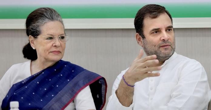 Sonia Gandhi is the congress president