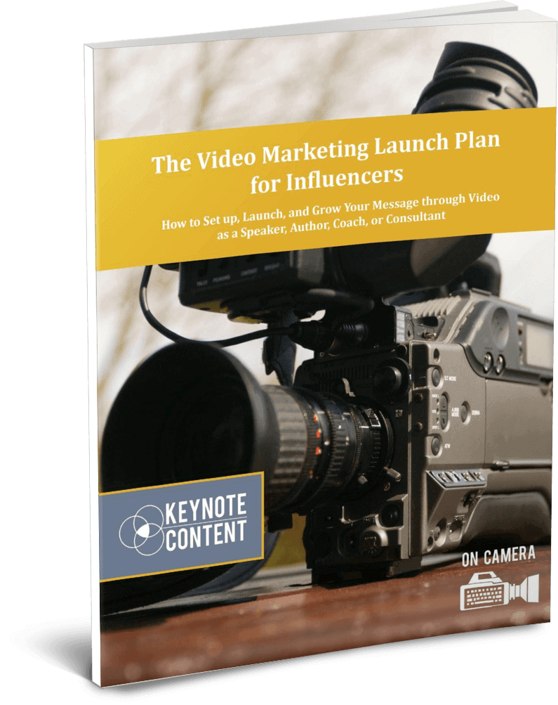 The Video Marketing Launch Plan for Influencers | Keynote Content
