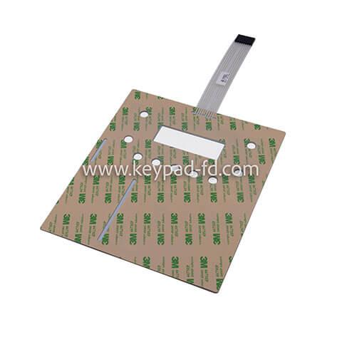 Metal membrane switch