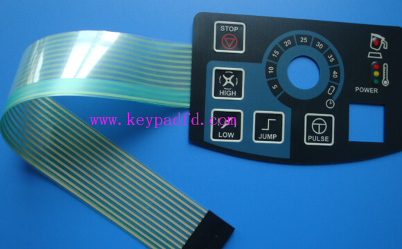 What are the design structures of membrane switches?
