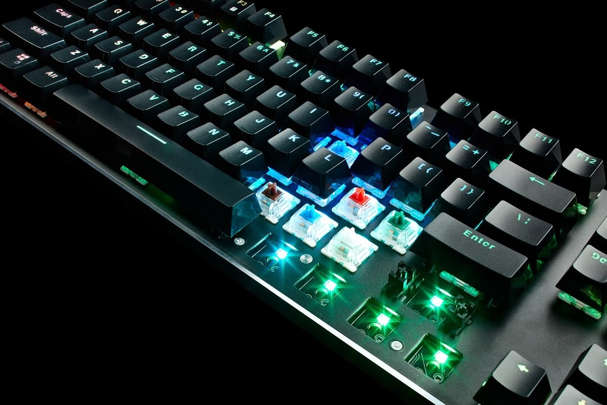Which is the best LGF membrane switch keyboard for games?