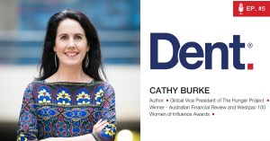 5. Cathy Burke on ending world hunger and empowering the world's most Unlikely Leaders