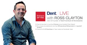Dent LIVE with Ross Clayton