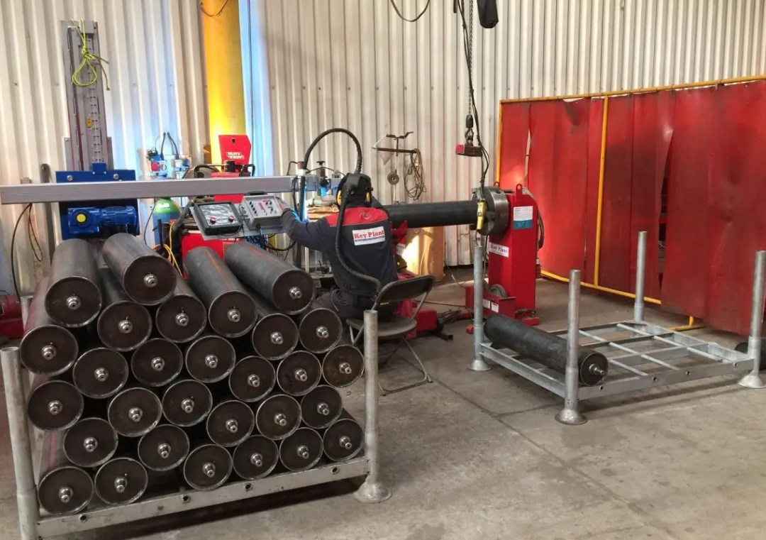 Welding fabrication by Key Plant robot