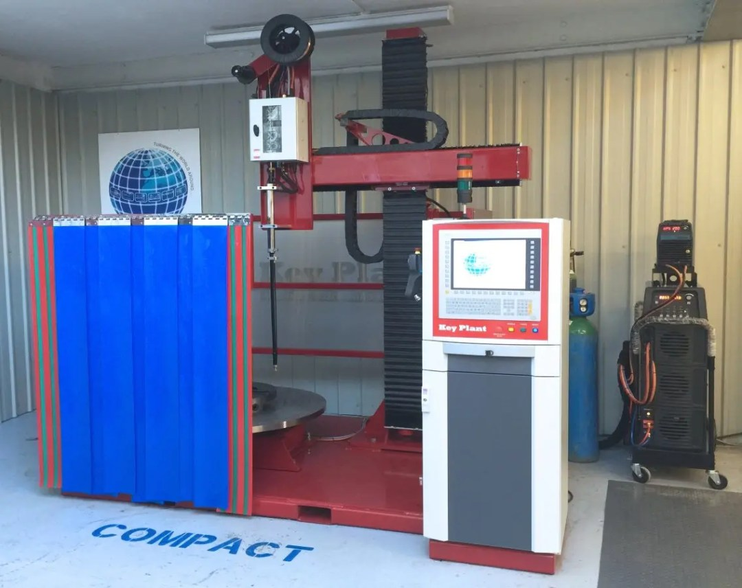 Key Plant welding research and development equipment