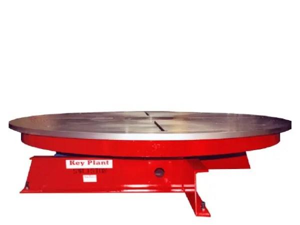 welding floor turntable