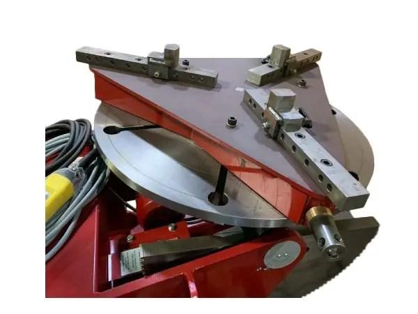 3 jaw gripper welding chuck