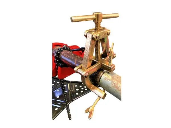 Pipe Clamp Gold
